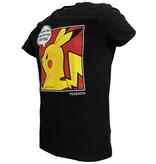 Pokémon Pokémon Pikachu Pop-Art Comic T-Shirt Zwart / Geel / Rood
