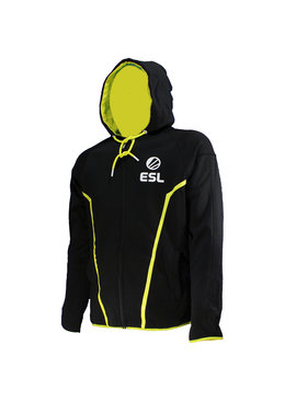 ESL Electronic Sports League ESL E-Sports TEQ Jacket Hoodie with Zipper