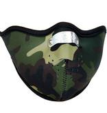 Facemasks Biker Facemask Skimask Camo Green