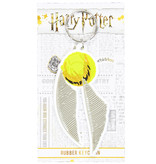 Harry Potter Harry Potter Golden Snitch Quidditch Rubber Keychain Gold / White