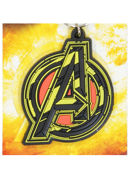 Marvel Comics: The Avengers, Captain America, Spider-Man, The Hulk, Thor, Black Panther, Deadpool, Ant-Man, Iron Man, The Punisher Marvel Comics Avengers Infinity War Rubber Keychain