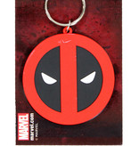 Deadpool Marvel Comics Deadpool Rubberen Sleutelhanger Keychain Zwart / Rood