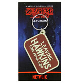 Stranger Things Netflix Stranger Things Leaving Hawkins Rubber Keychain Red