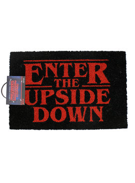 Stranger Things Netflix Stranger Things Enter The Upside Down Door Mat