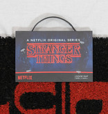 Stranger Things Netflix Stranger Things Enter The Upside Down Deurmat Doormat Zwart / Rood