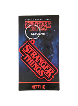 Stranger Things Netflix Stranger Things Logo Rubberen Sleutelhanger Keychain