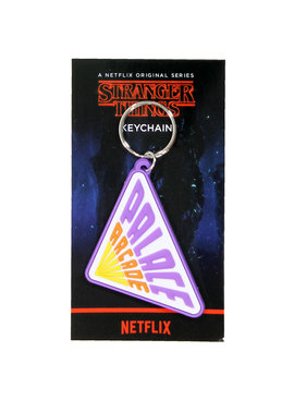 Stranger Things Netflix Stranger Things Palace Arcade Rubber Keychain