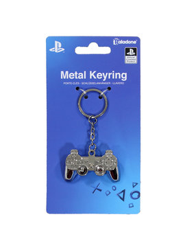 PlayStation  Sony Playstation 3D Metalen Controller Sleutelhanger Keychain