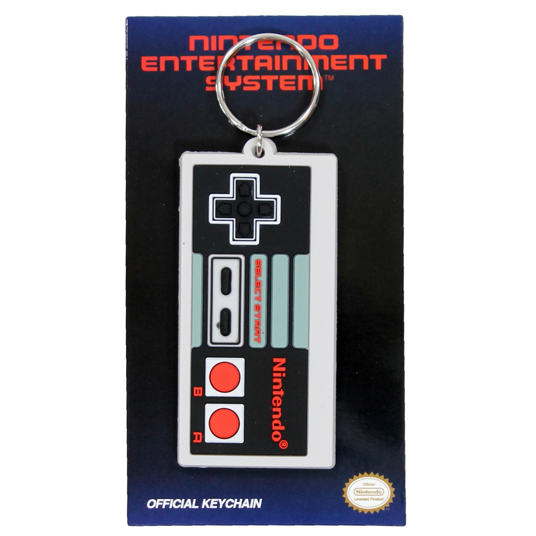 Nintendo Nintendo Entertainment System NES Controller Keychain Multicolor