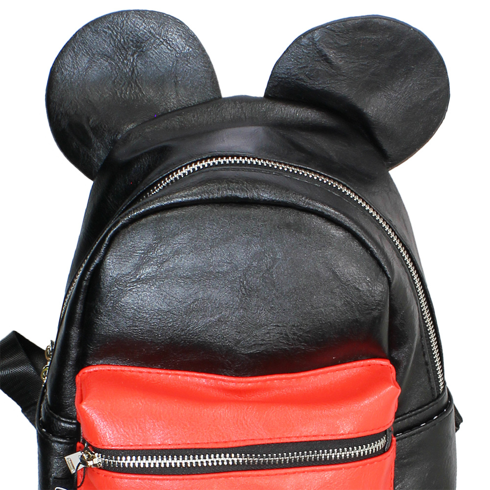 Mickey Mouse Disney Mickey Mouse Outfit Backpack Black / Red