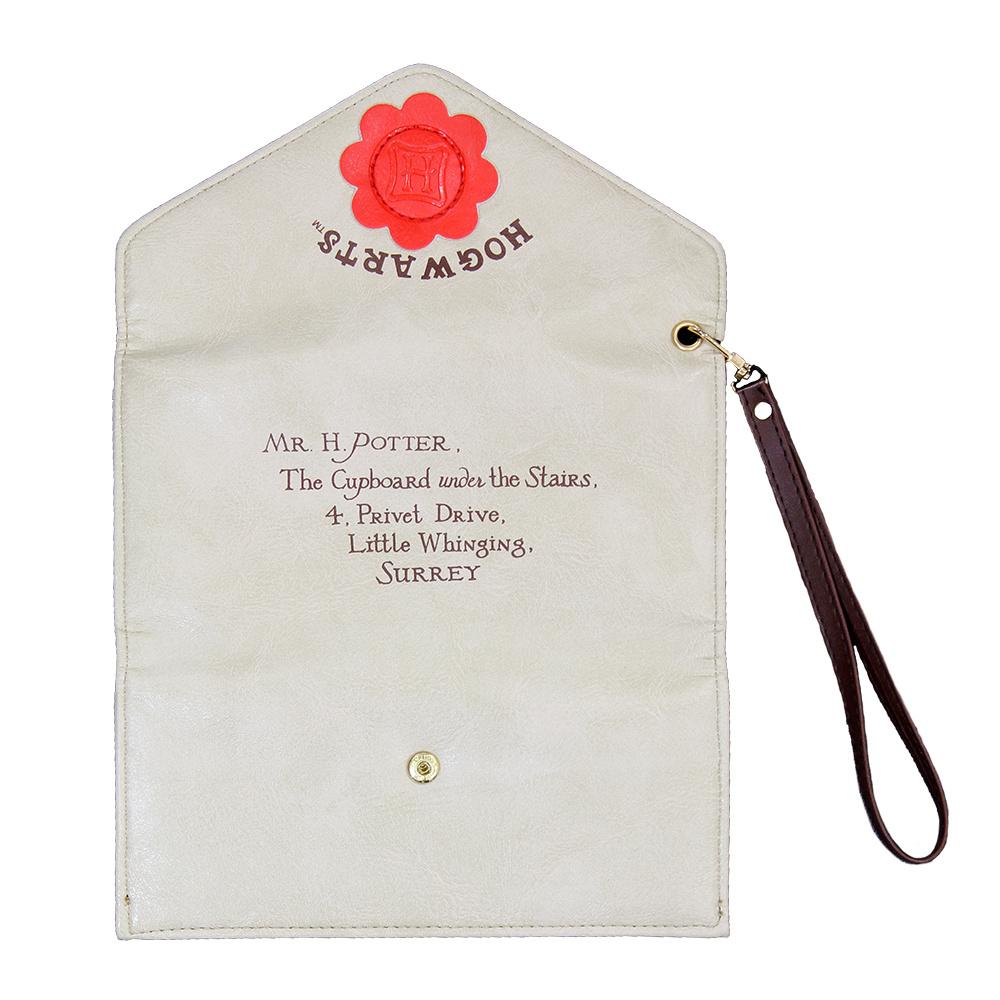 Harry Potter Harry Potter Letter Wallet Leather White