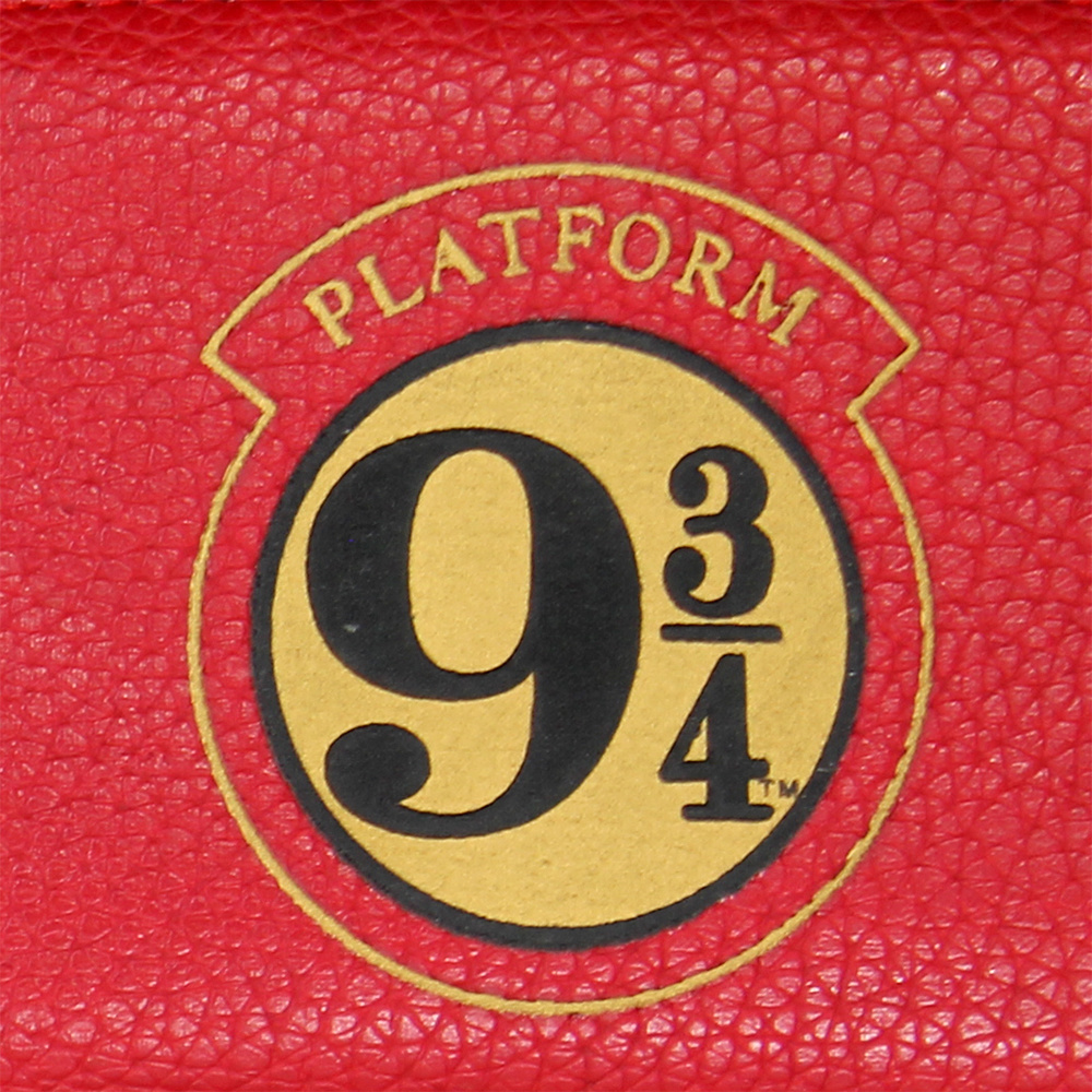 Harry Potter Harry Potter Hogwarts Platform 9 3/4 Portemonnee Wallet Rood