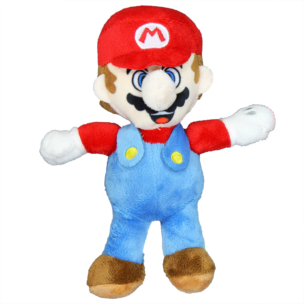 Super Mario Bros Nintendo Super Mario Bros Mario Soft Plush Toy Doll