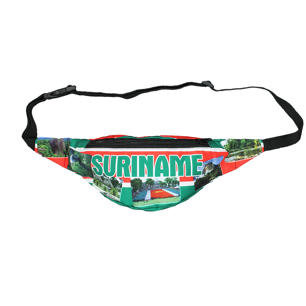 Fun & Fashion Suriname National Photography Fanny Pack Green
