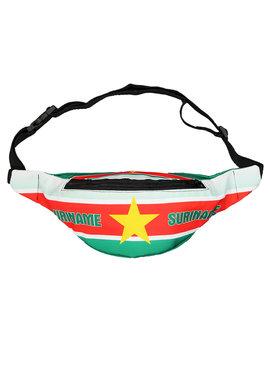 Fun & Fashion Suriname Vlag Fanny Pack Heuptasje