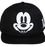 Mickey Mouse Disney Mickey Mouse Face Premium Snapback Cap Black