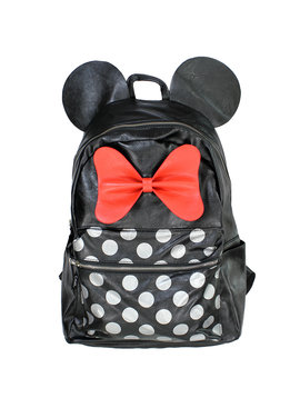 Minnie Mouse Disney Minnie Mouse Dots & Hair Bow Backpack Rugtas