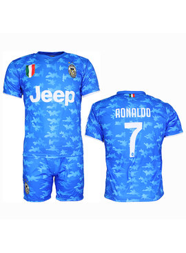 Voetbal Kleding / Football Clothing Juventus Replica Cristiano Ronaldo CR7 Alternative 3rd Kit Football T-Shirt + Shorts Set