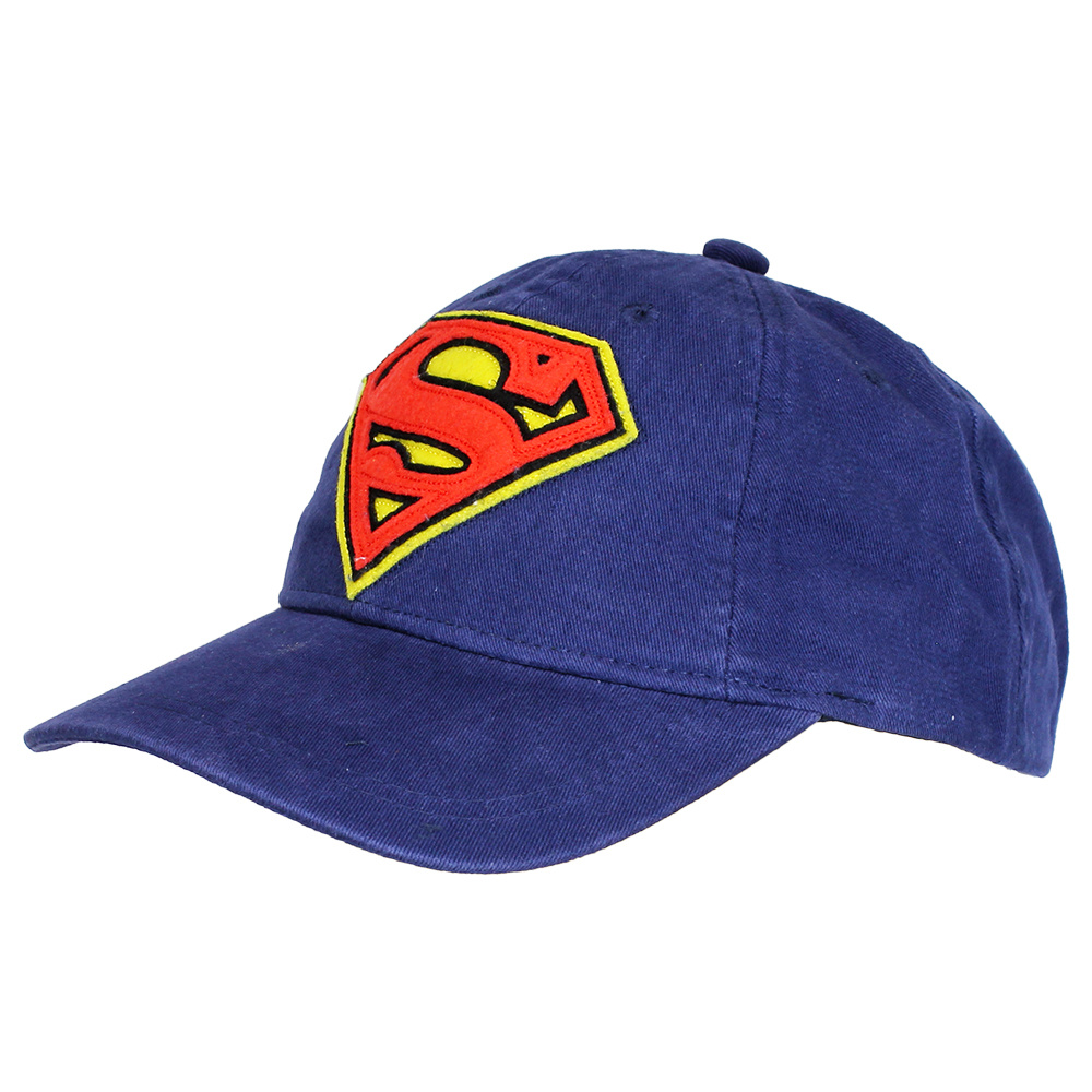 Superman DC Comics Superman Logo Adjustable Cap Blue