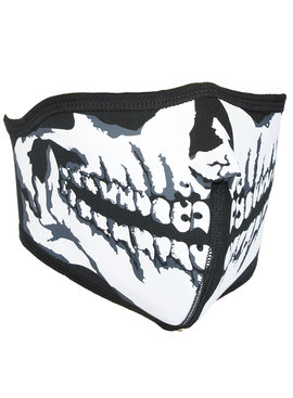 Facemasks Biker Mondkap Facemask Skimasker Skull Print met Filter