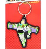 Toy Story Disney Pixar Toy Story Buzz Lightyear Rubber Keychain Multicolor