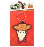 Toy Story Disney Pixar Toy Story Woody Rubber Keychain Multicolor