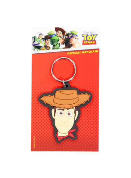 Toy Story Disney Pixar Toy Story Woody Rubberen Sleutelhanger Keychain