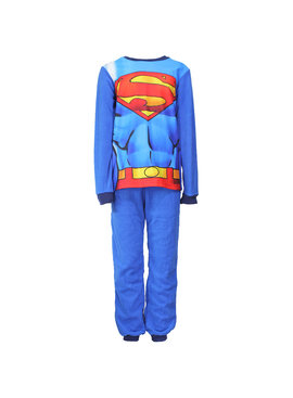 Superman DC Comics Superman Warm Fleece Kids Pajama