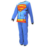 Superman DC Comics Superman Warme Fleece Kids Pyjama Blauw