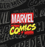 Marvel Comics Marvel Comics Comic Titles T-Shirt Black / Grey