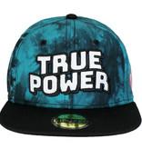 Marvel Comics Marvel Comics True Power Snapback Cap Pet Tie Dye Zwart / Blauw