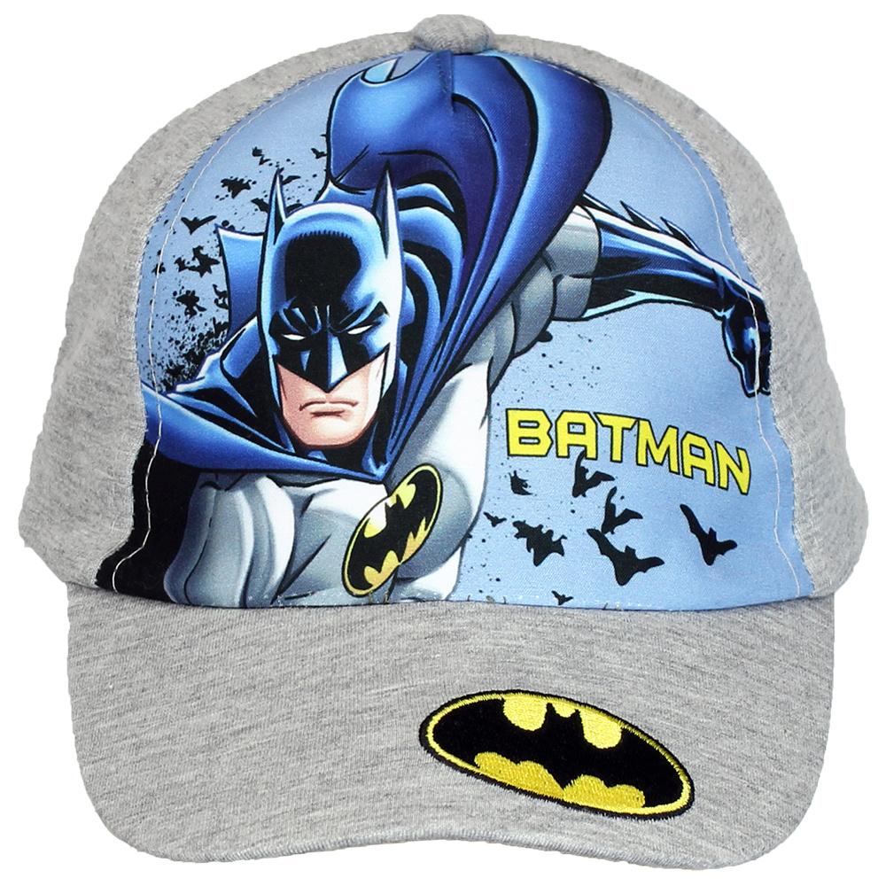 Batman Batman Adjustable Kids Cap Grey