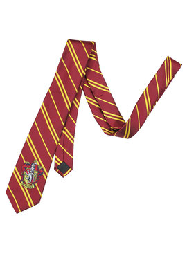 Harry Potter Harry Potter Gryffindor Woven Logo Microfiber Necktie