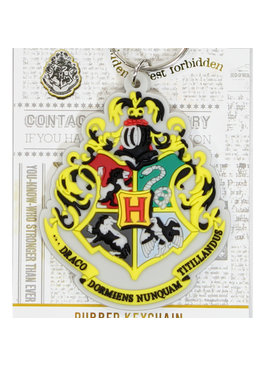 Harry Potter Harry Potter Hogwarts Crest Rubber Keychain