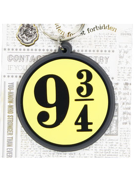 Harry Potter Harry Potter Platform 9 3/4 Rubber Keychain