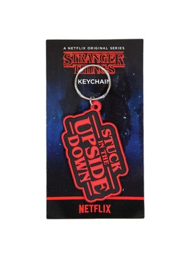 Stranger Things Netflix Stranger Things Stuck In The Upside Down Rubber Keychain