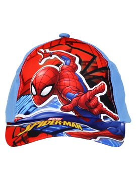 Spider-Man Marvel Comics Spiderman Adjustable Kids Cap Light Blue
