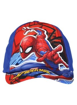Spider-Man Marvel Comics Spider-Man Verstelbare Kids Cap Pet Donker Blauw