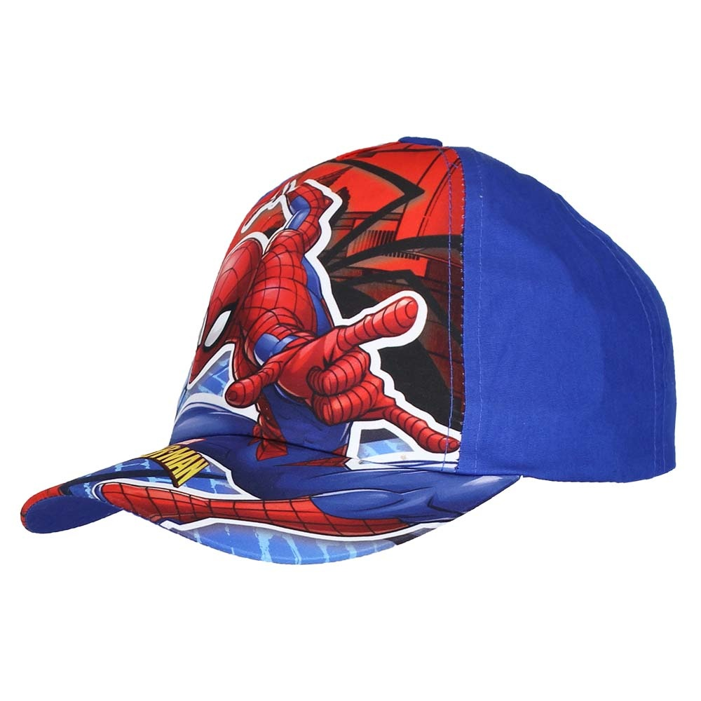 Spider-Man Marvel Comics Spiderman Adjustable Kids Cap Dark Blue