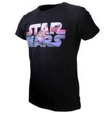 Star Wars Star Wars Baby Yoda Logo T-Shirt Black