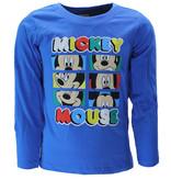 Mickey Mouse Disney Mickey Mouse Longsleeve T-Shirt Kids Blue