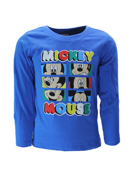 Mickey Mouse Disney Mickey Mouse Longsleeve T-Shirt Kids Blauw
