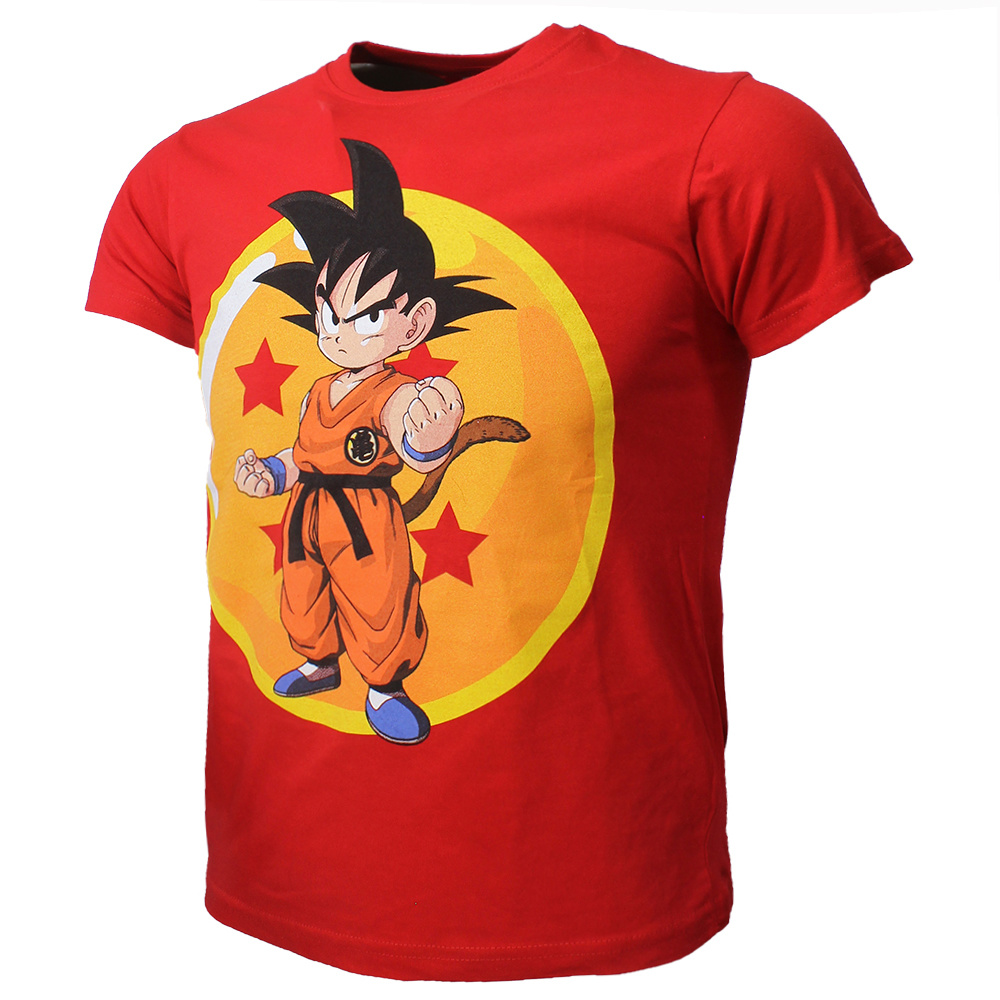 Dragon Ball Z Dragon Ball Z Son Goku Kids T-Shirt Rood