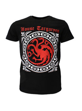 Game of Thrones Game of Thrones House Targaryen T-Shirt