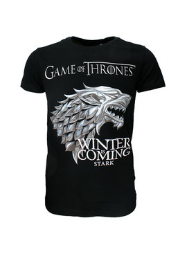 Game of Thrones Game of Thrones Winter is Coming Stark Family T-Shirt