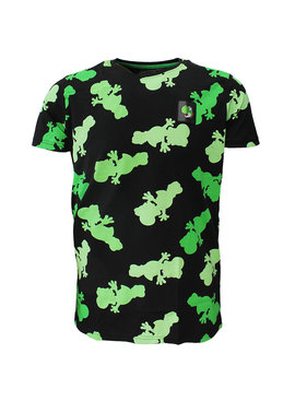 Super Mario Bros Nintendo Super Mario Bros Yoshi All Over Print T-Shirt