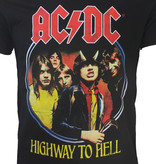 Band Merchandise AC/DC Highway to Hell T-Shirt Black