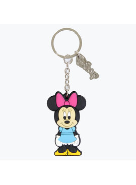 Minnie Mouse Disney Minnie Mouse Rubber Keychain