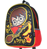 Harry Potter Harry Potter 3D Kids Backpack Rugtas Zwart