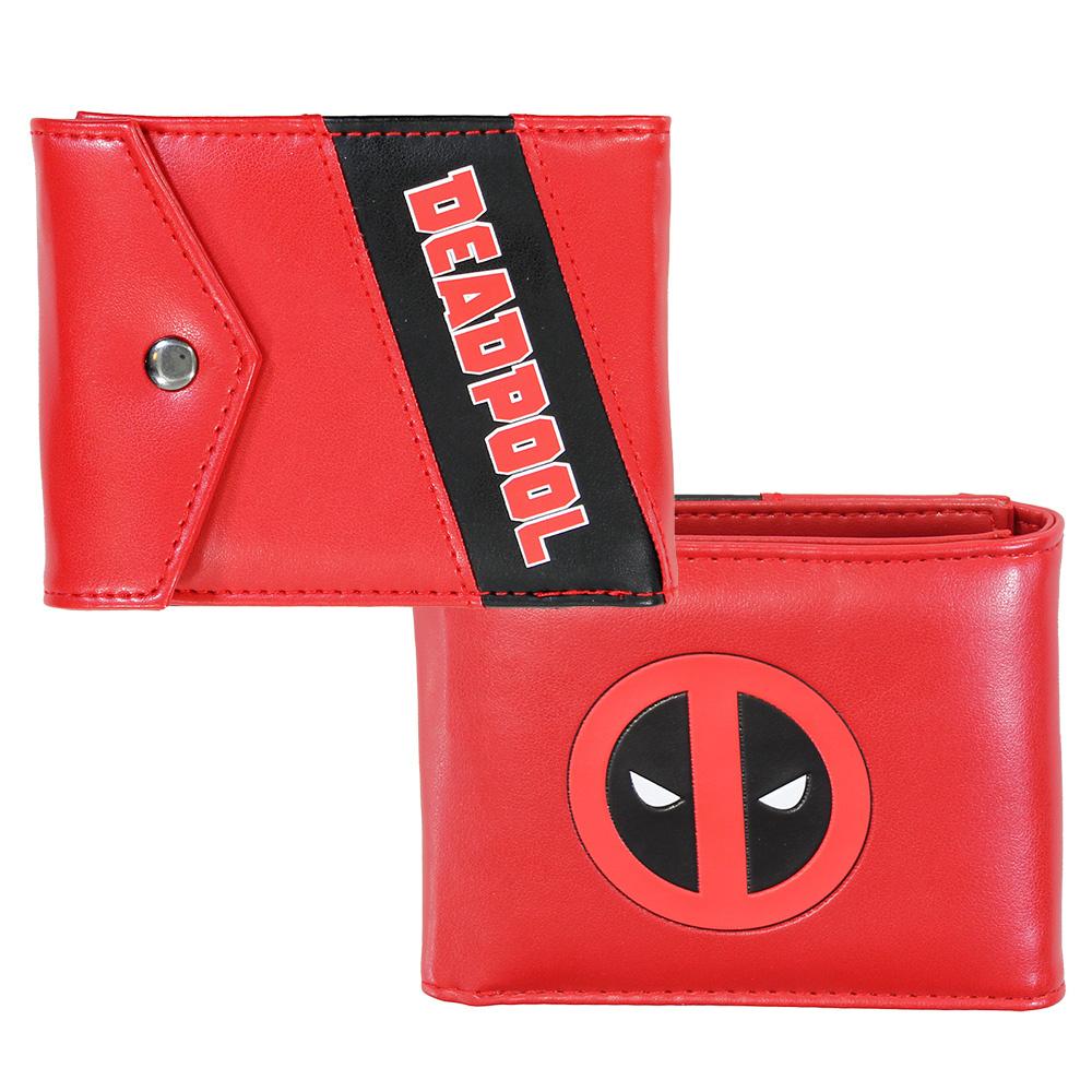 Deadpool Marvel Comics Deadpool Trifold Wallet Portemonnee Rood